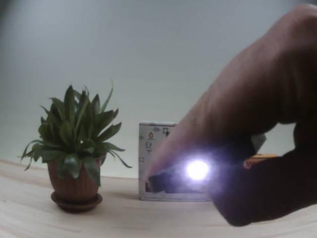 Пример съёмки OpenMV IR Lens