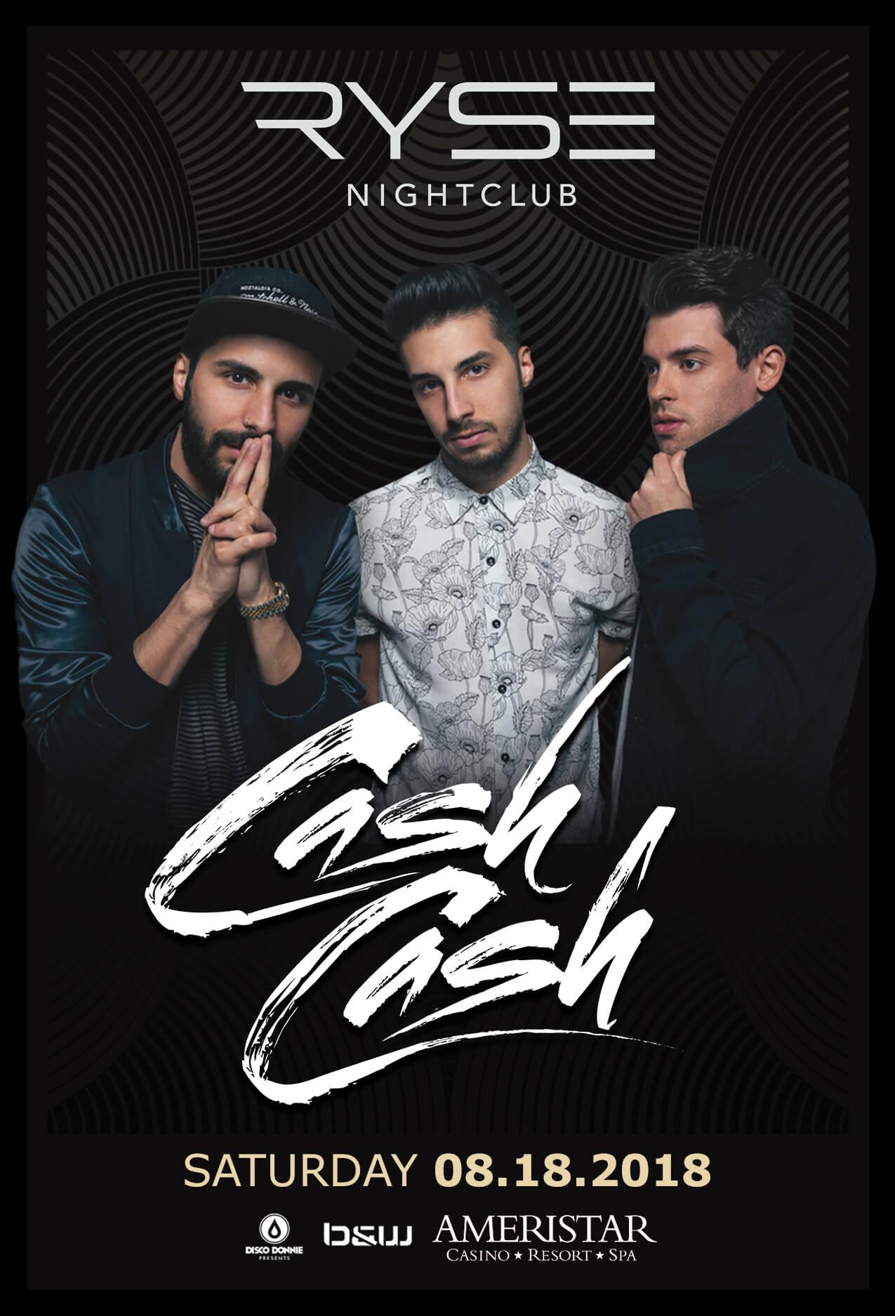 Cash Cash in St Charles