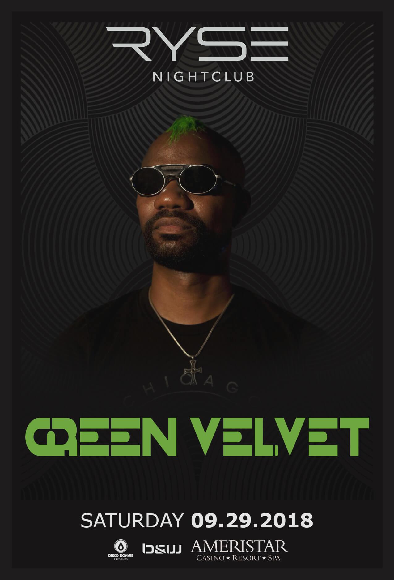 Green Velvet in St Charles