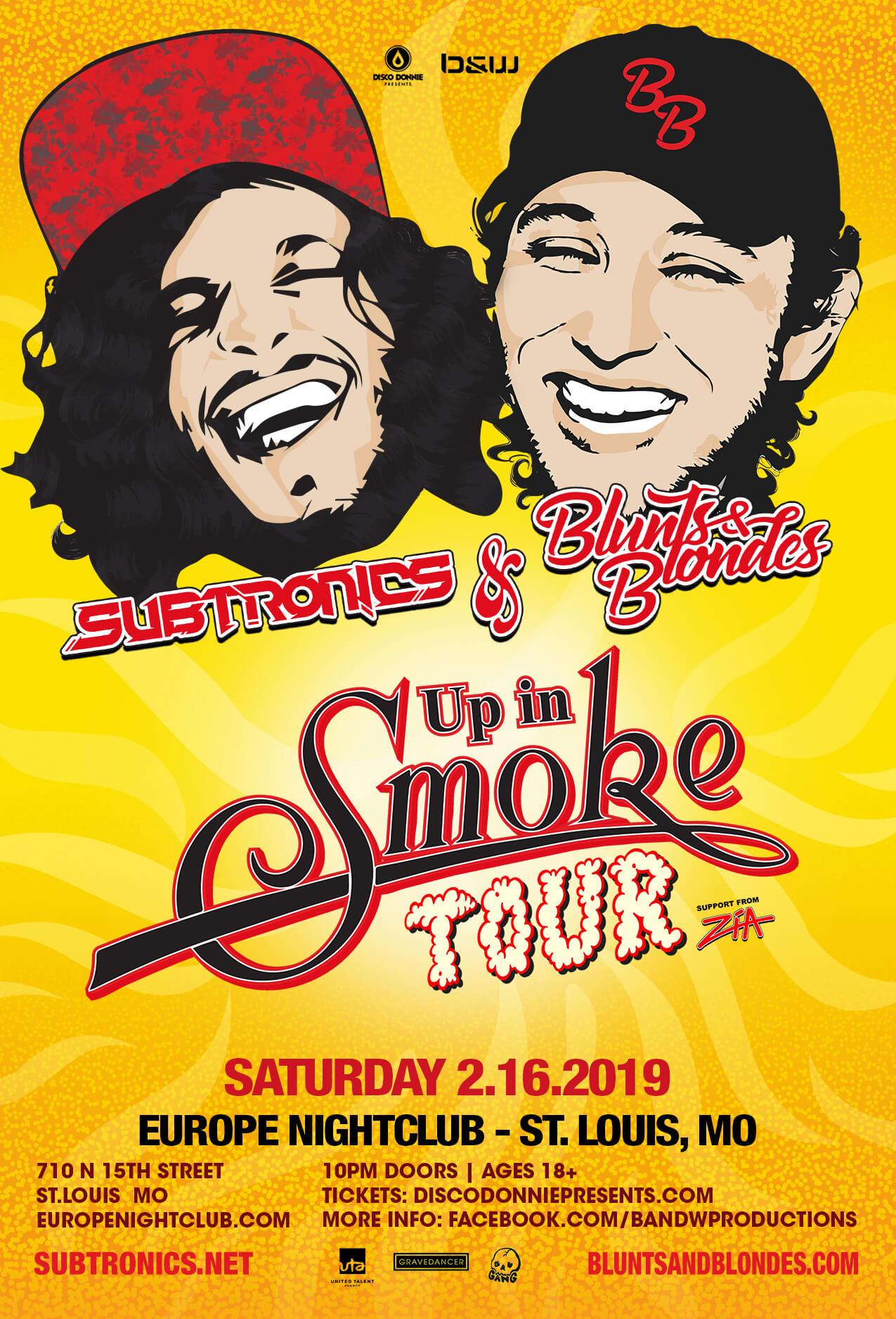 Subtronics, Blunts & Blondes in St Louis