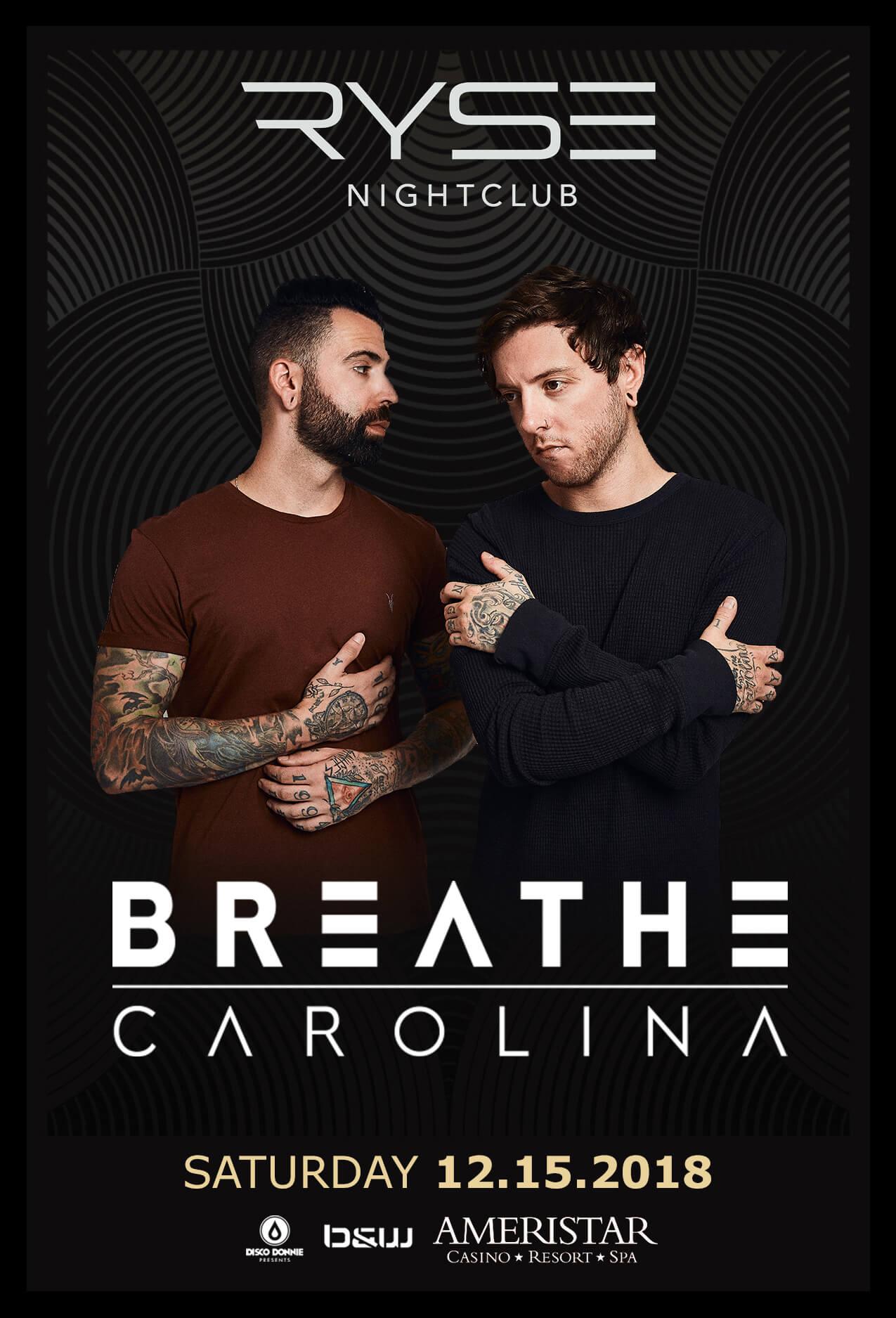 Breathe Carolina in St Charles