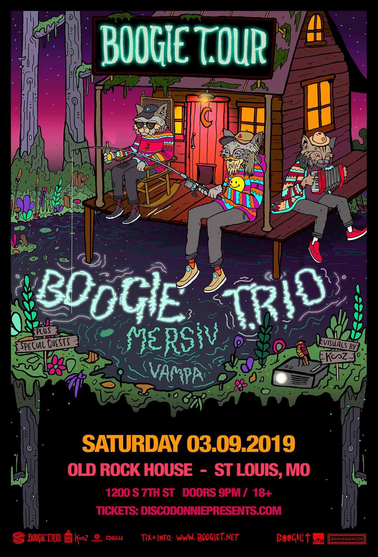 Boogie T, Mersiv, Vampa in St Louis