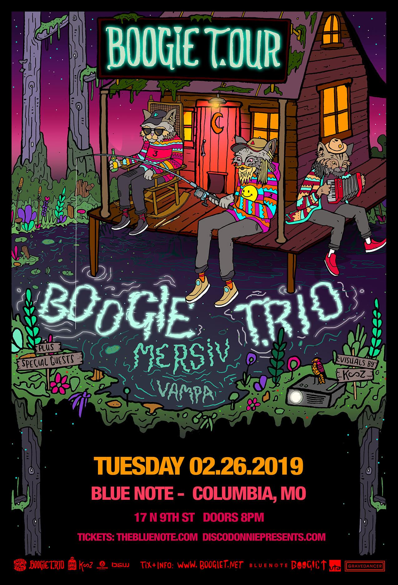 Boogie T, Mersiv, Vampa in Columbia