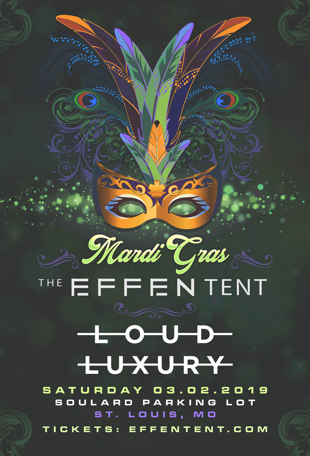 The Effent Tent in St Louis