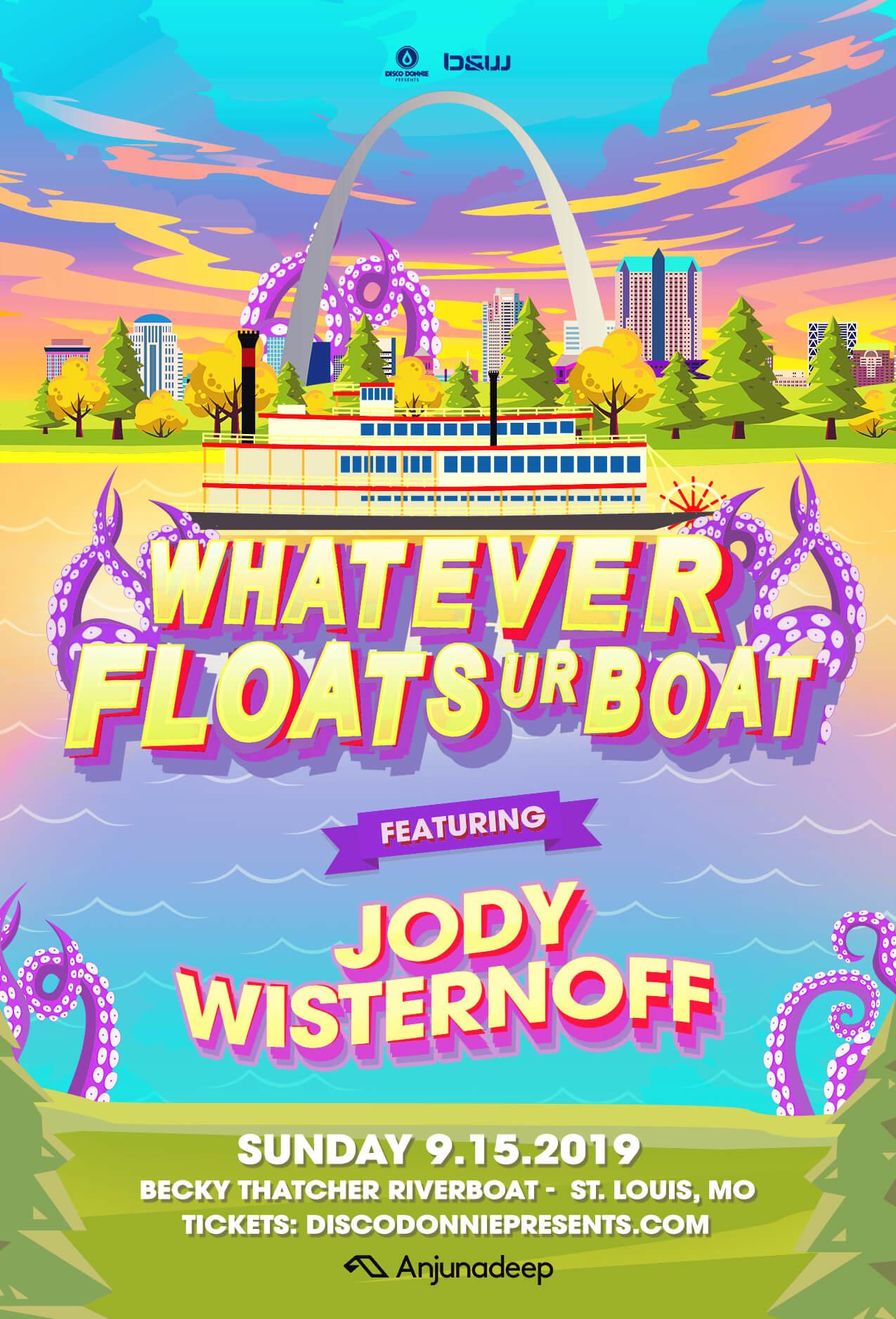 Whatever Floats UR Boat feat. Jody Wisternoff in St Louis
