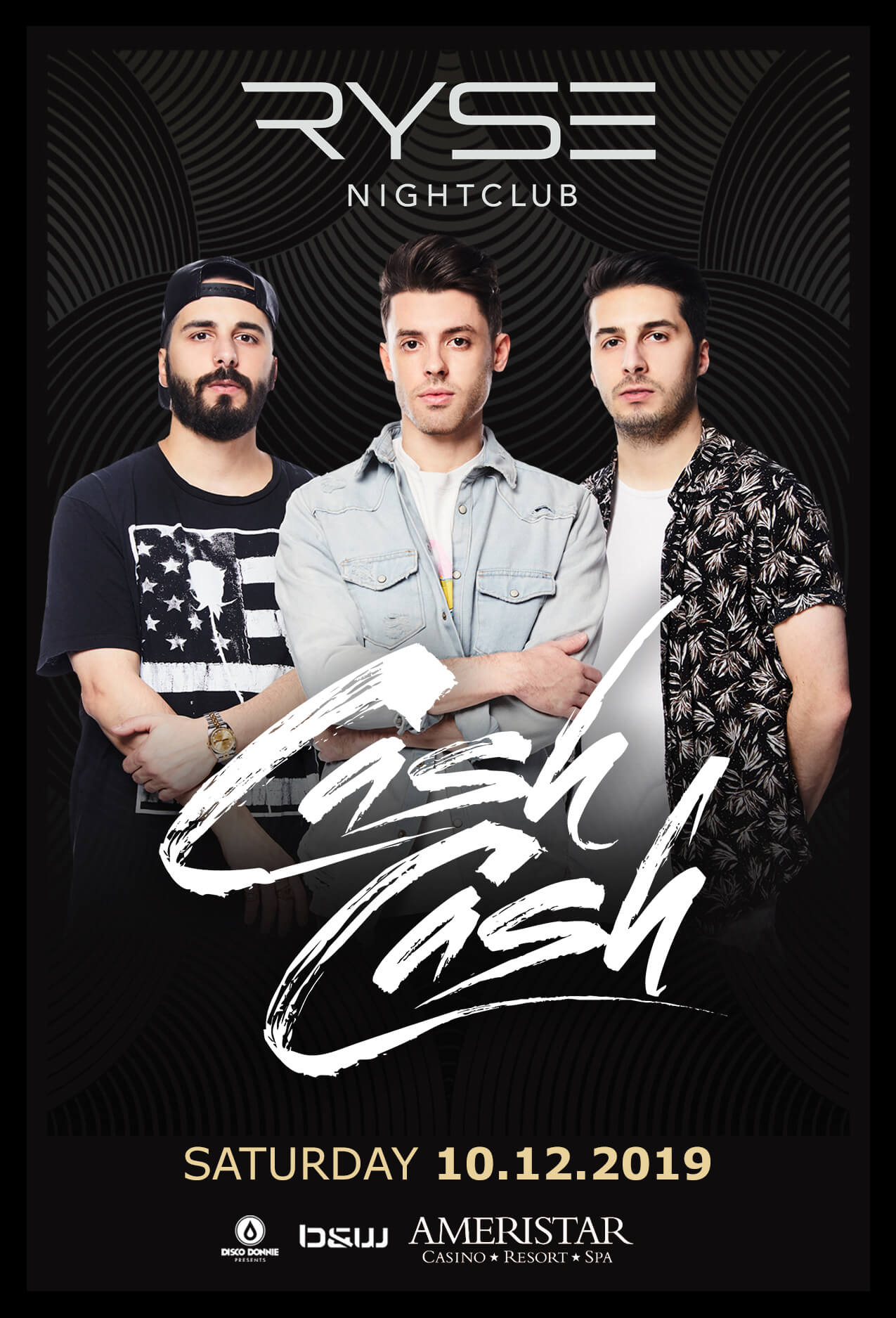 Cash Cash in St Charles