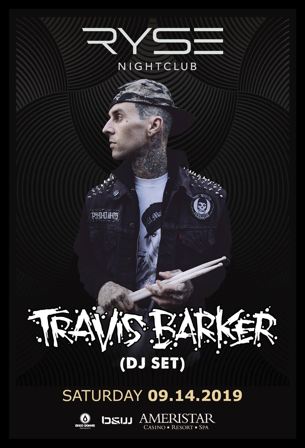 Travis Barker in St Charles
