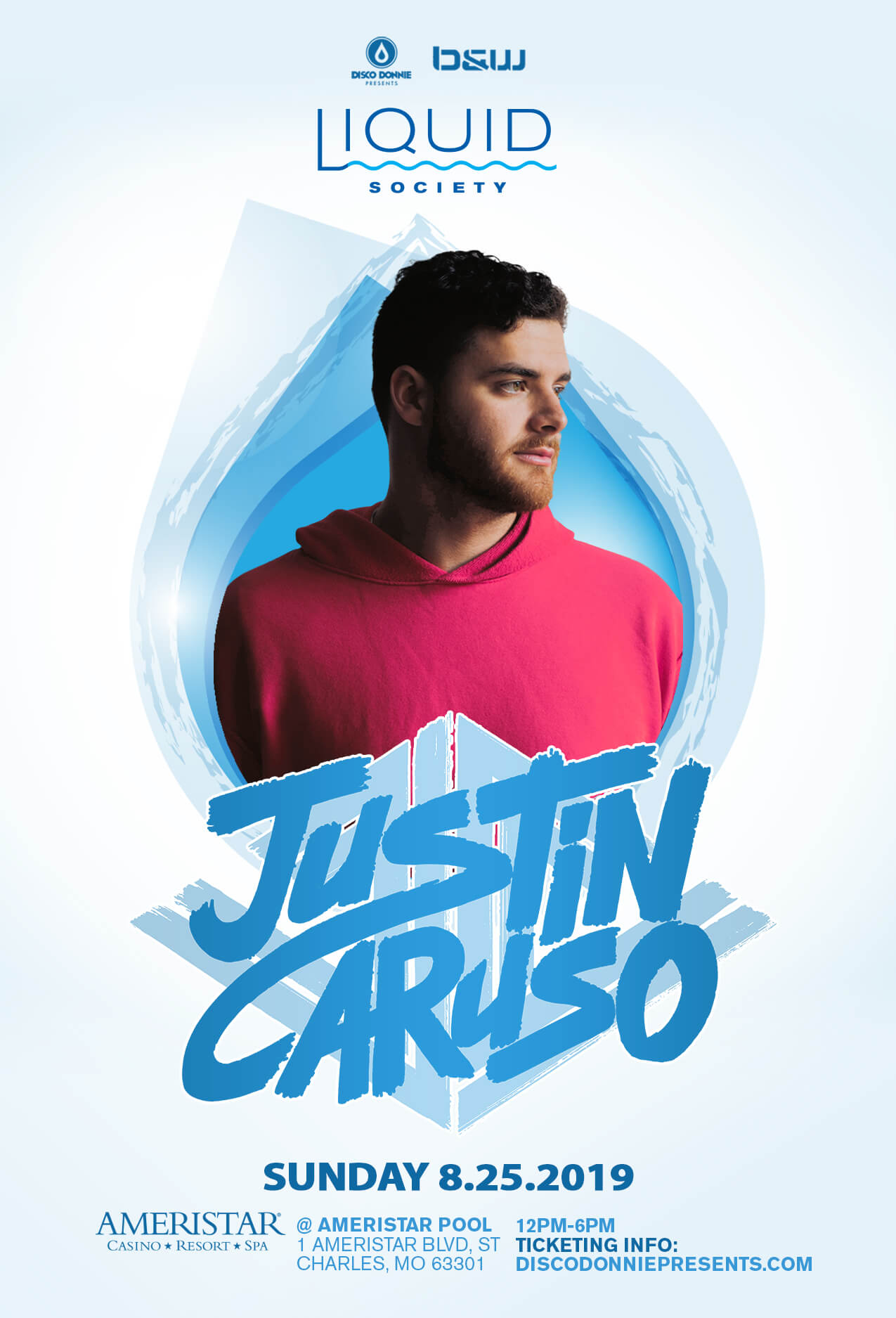 Justin Caruso in St Charles