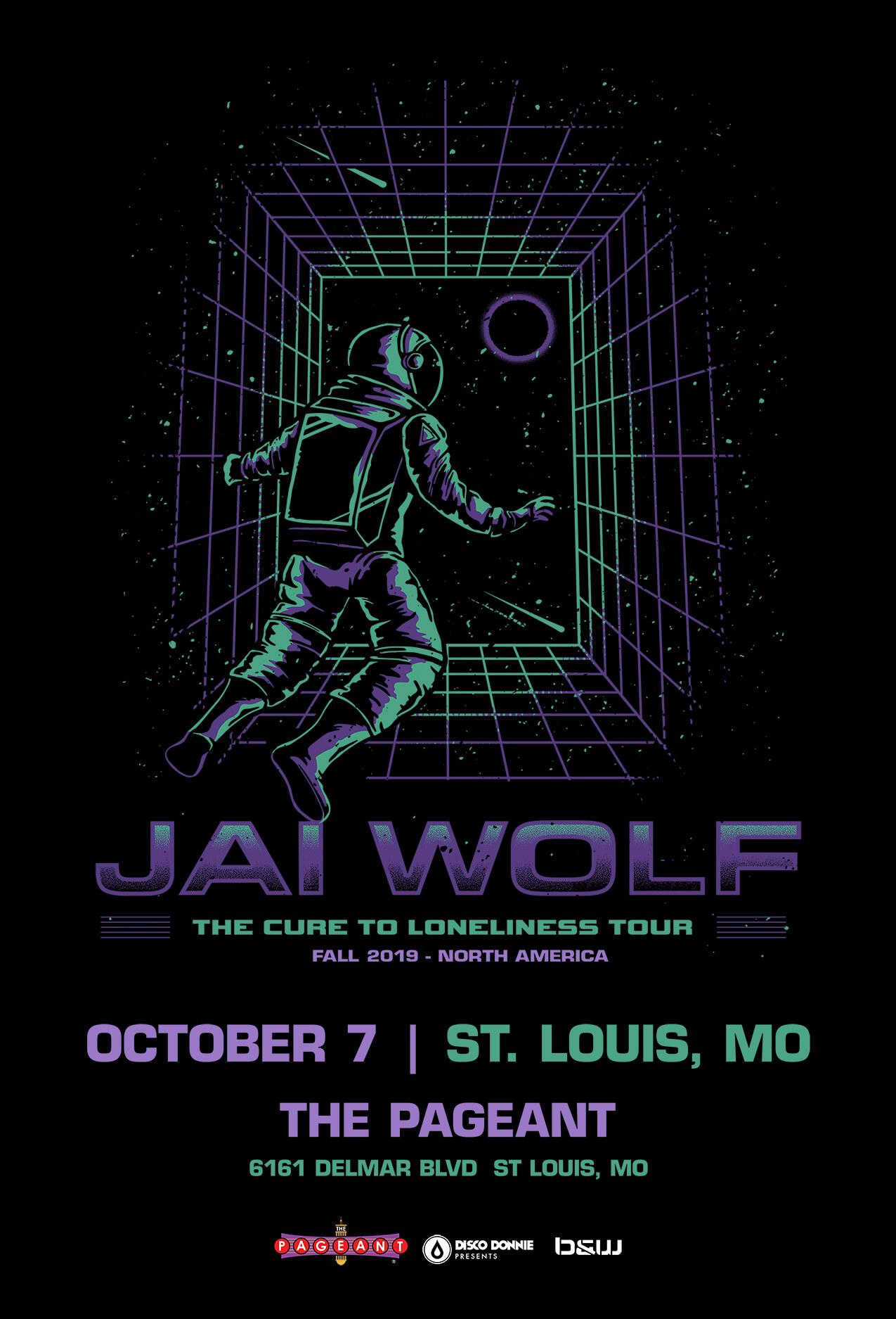 Jai Wolf in St Louis