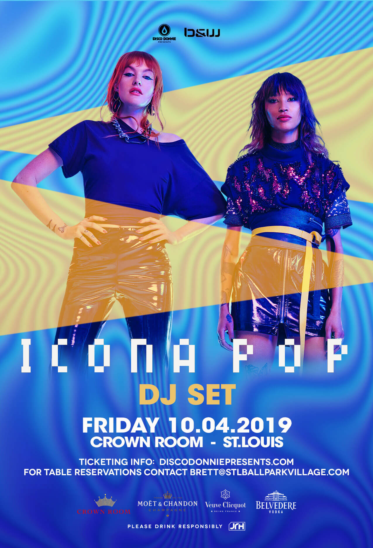 Icona Pop in St Louis