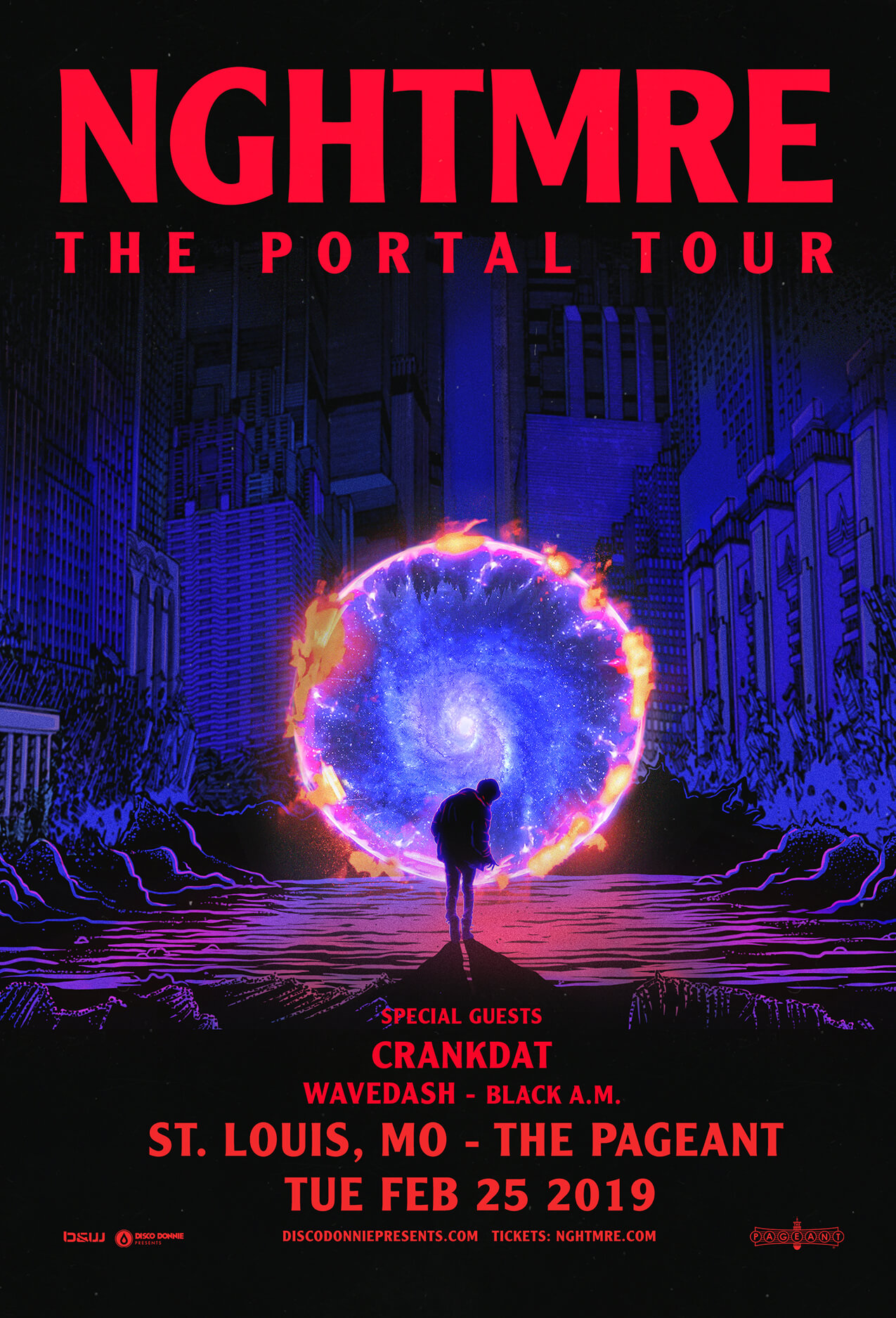 NGHTMRE, Crankdat, Wavedash in St Louis