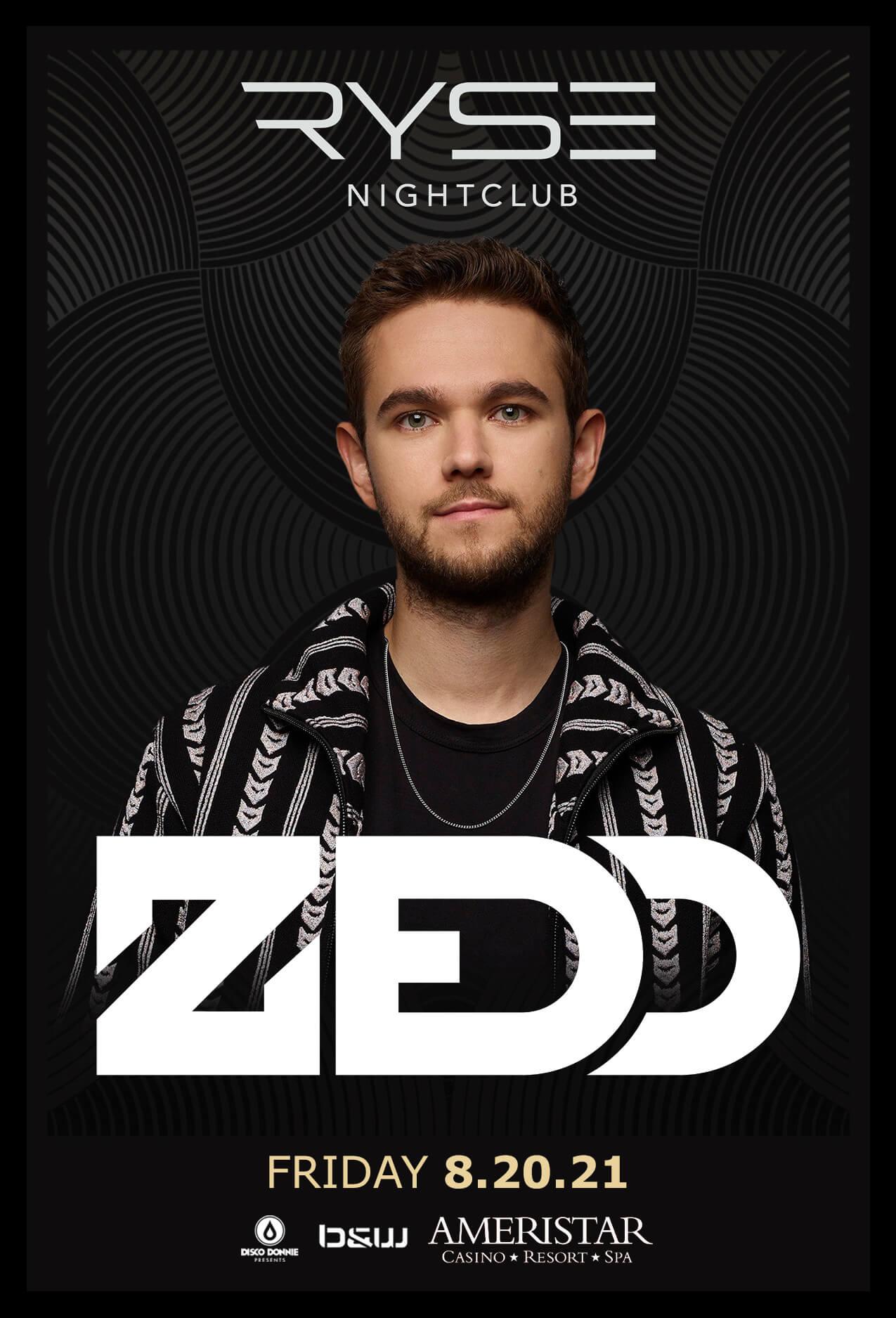 Zedd in St Charles