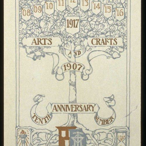 CCA History: 10th Anniversary print materials from 1907-1917