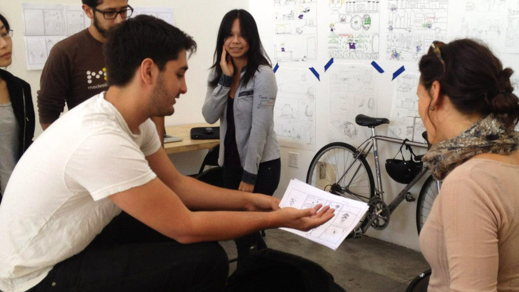 Workshop with Thorina Rose at CCA's Memoir Comics Studio _  one-on-one craft instruction