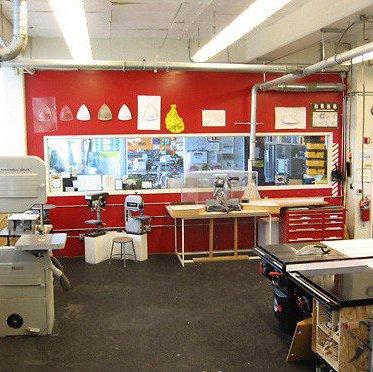 View of CCA's Model Shop