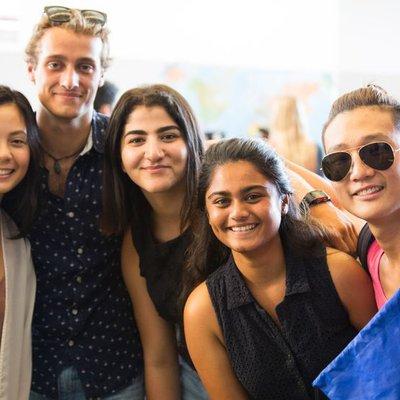 Students at Chimerapalooza