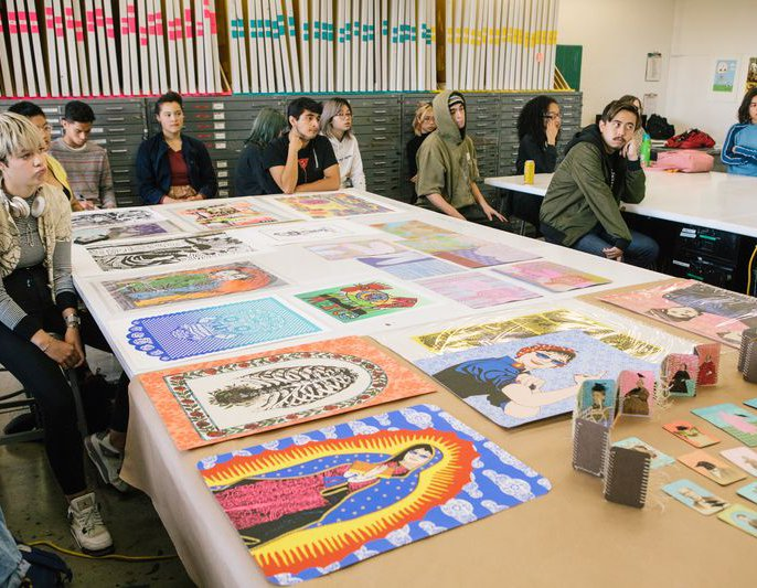 Printmaking Class in Oakland