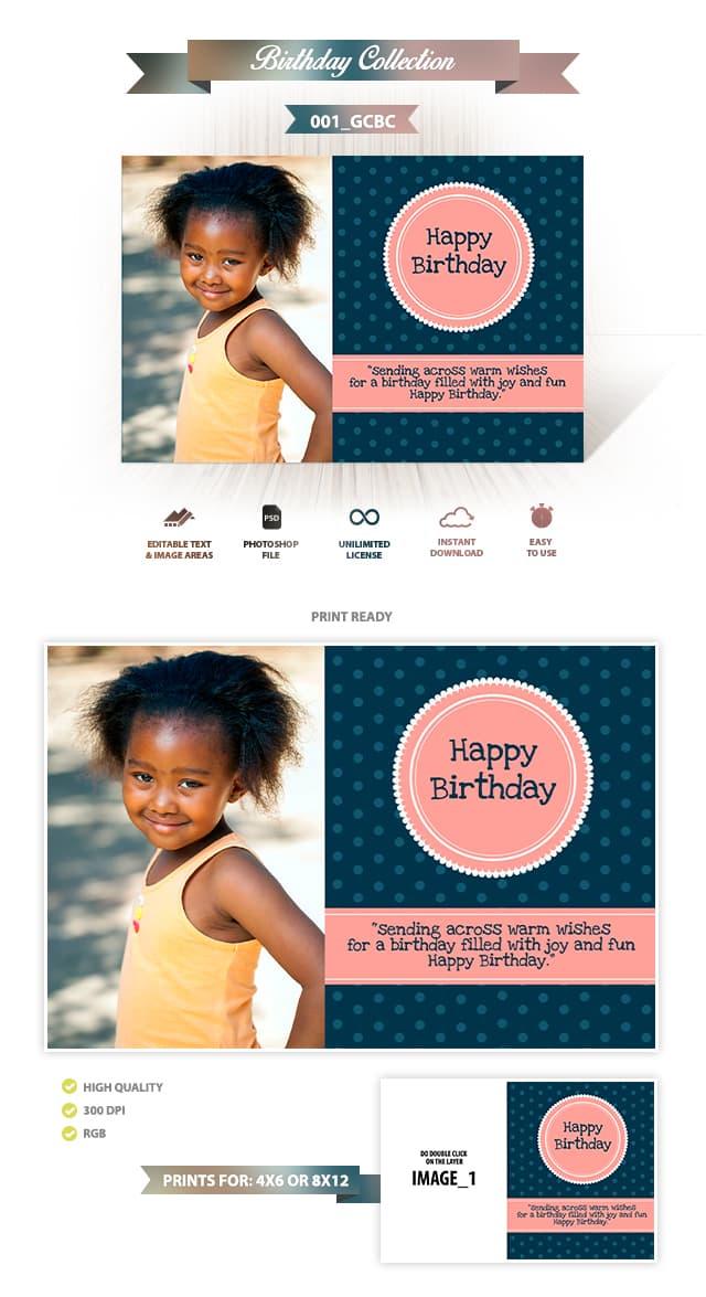 Birthday Greeting Cards Design | 001_GCBC