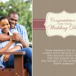 Wedding Greeting Card 001 GCWC