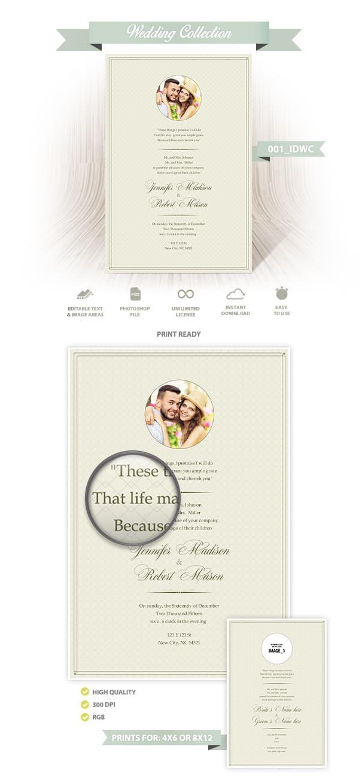 Wedding Invitation Design | 001_IDWC