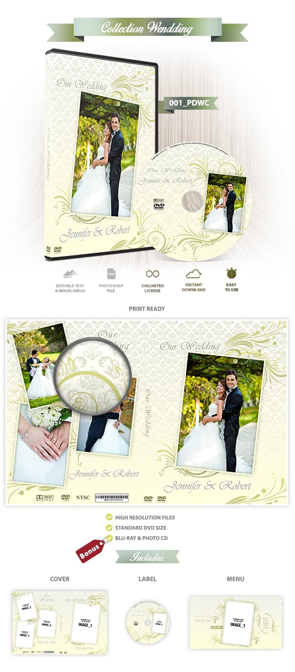 Wedding DVD Cover 001