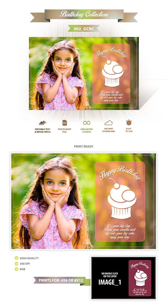 Birthday Greeting Cards Design | 002_GCBC