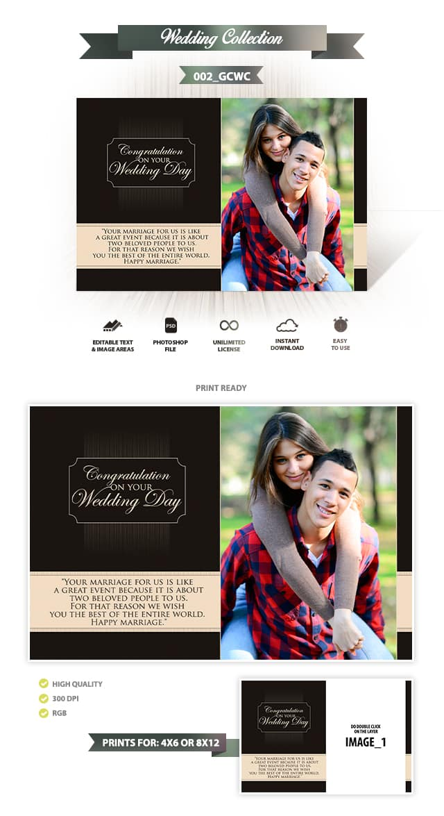 Wedding Greeting Cards Design | 002_GCWC