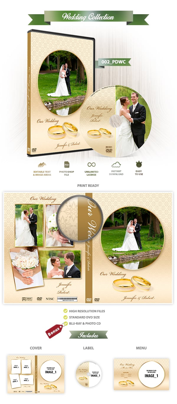 Wedding DVD Cover 002