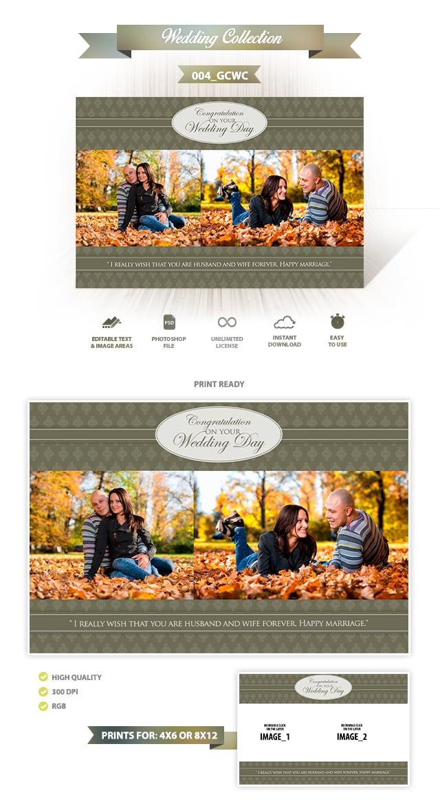 Wedding Greeting Cards Design | 004_GCWC