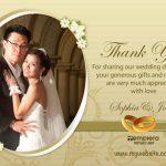 Wedding ThankYou Card 005 TCWC