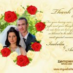 Wedding ThankYou Card 006 TCWC