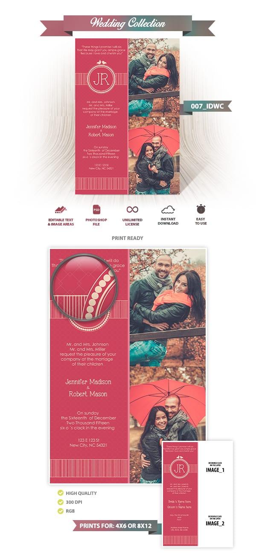 Wedding Invitation Design | 007_IDWC