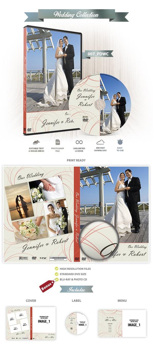 Wedding DVD cover | 007_PDWC