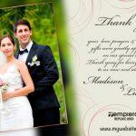Wedding ThankYou Card 007 TCWC