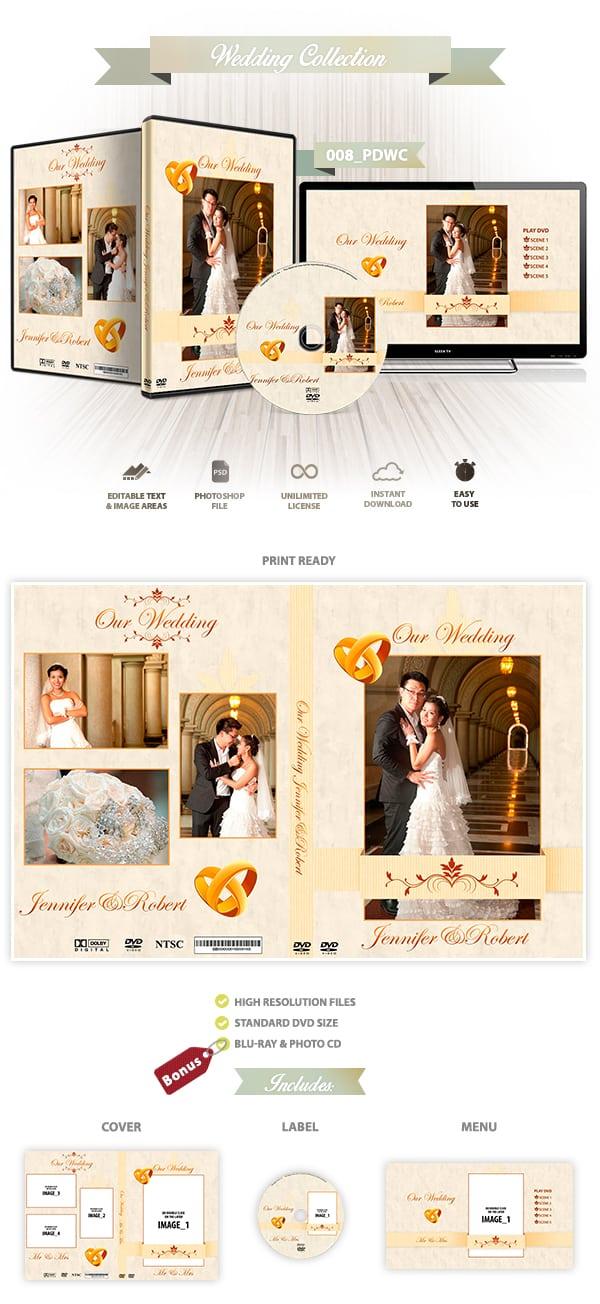 Wedding DVD cover | 008_PDWC