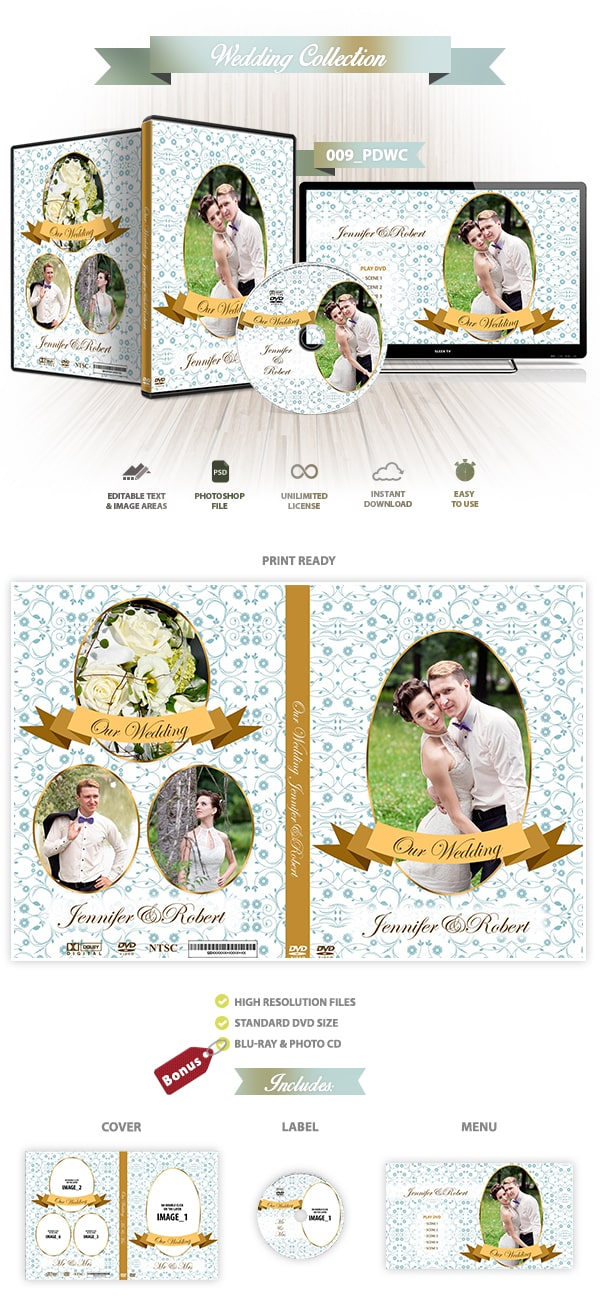 Wedding DVD Cover 009
