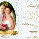 Wedding ThankYou Card 009 TCWC