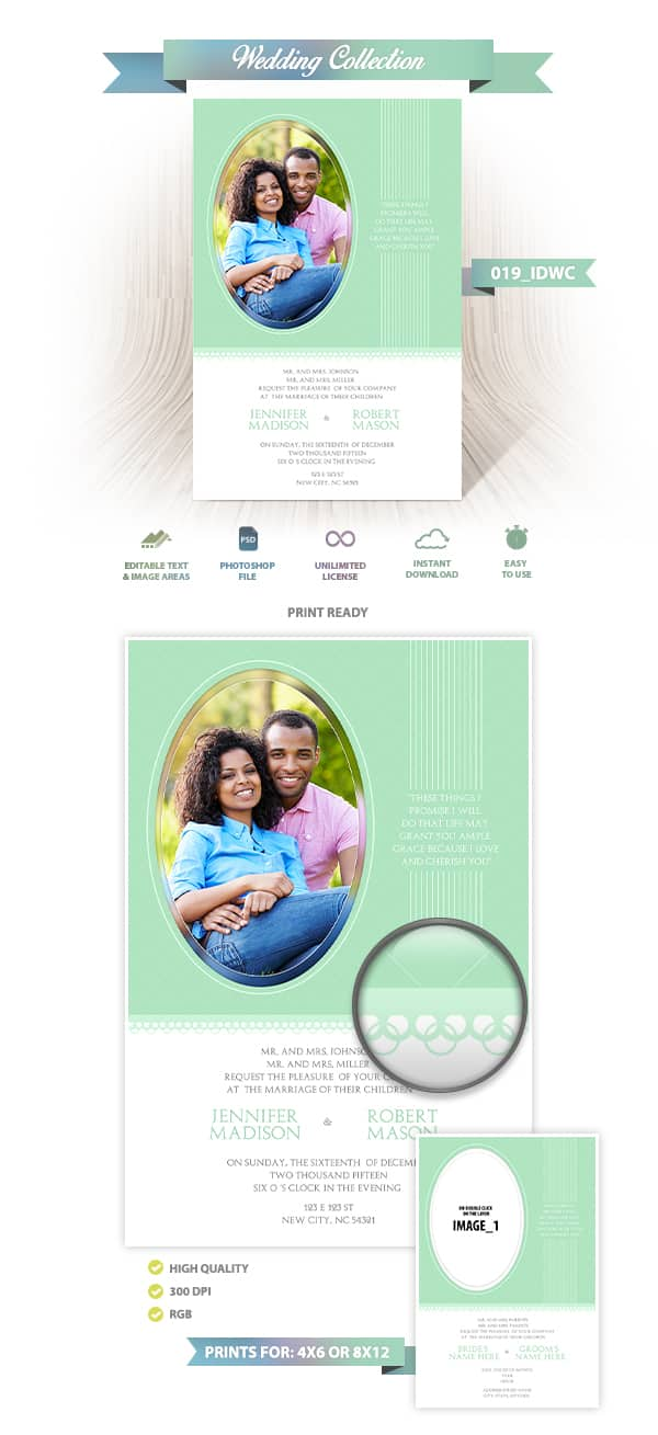 Wedding Invitation Design | 019_IDWC