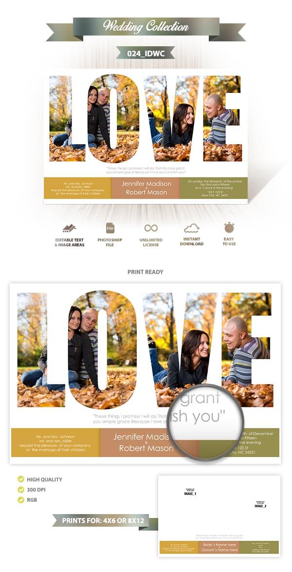 Wedding Invitation Design | 024_IDWC