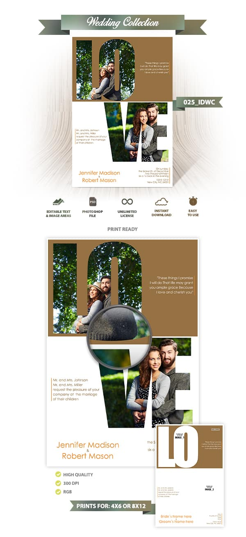 Wedding Invitation Design | 025_IDWC
