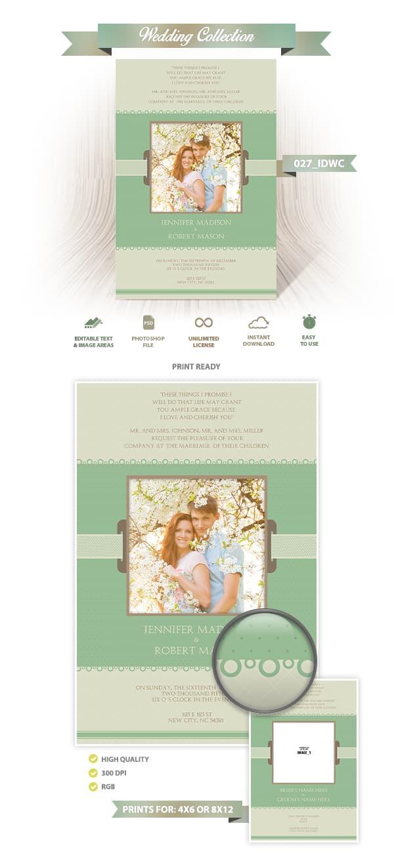 Wedding Invitation Design | 027_IDWC