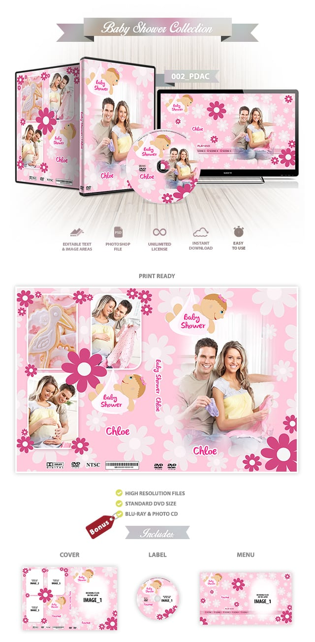 Baby Shower DVD Cover 002