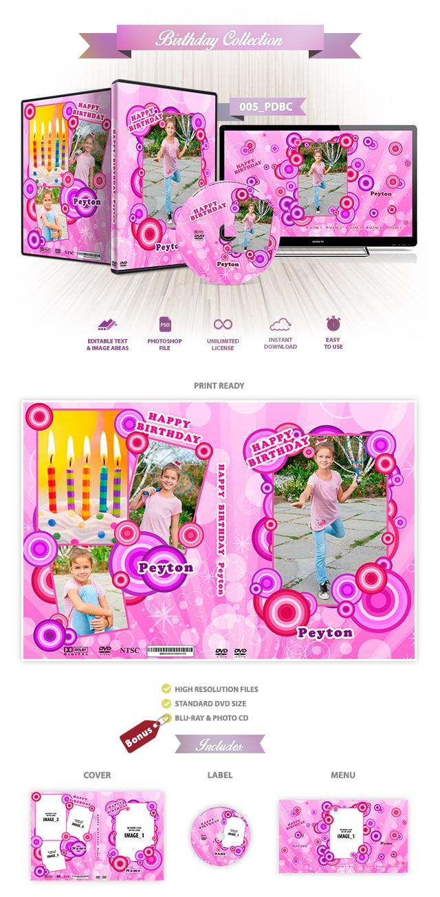 Birthday DVD Cover 005