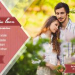 Fall in love Mini Session Template 014 for Photographers
