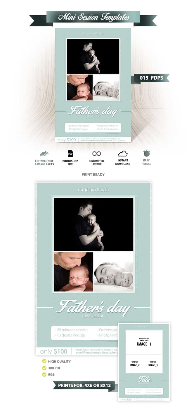 Father's day Mini Session Template 015