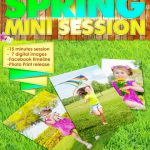 Spring Mini Session Template 016 for Photographers