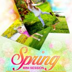 Spring Mini Session Template 017 for Photographers