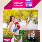 Mother's Day Mini Session Template 018 for Photographers