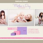 Mother's Day Mini Session Template 020 for Photographers