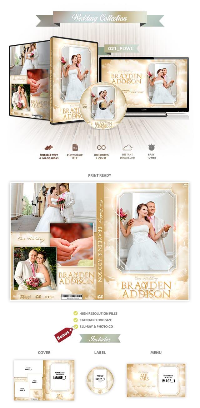 Wedding DVD Cover 21